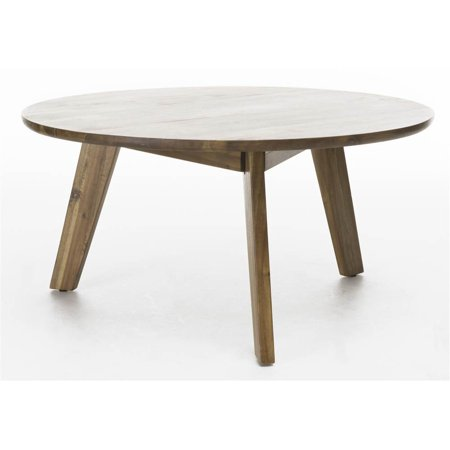 Acacia Coffee Table in Natural Stained Finish