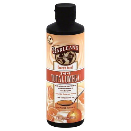 Barleans Organic Oils Barleans  Total Omega 3, 6, 9, 16 oz Barleans Kids Omega Swirl