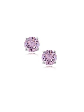 019b08bfd Free shipping on orders over $35. Free pickup. Product Image Pori Jewelers  14K Solid White Gold Birthstone Round-cut Stud Earrings made with Crystals  by
