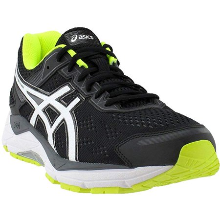 09fa1d22 ASICS Men's GEL-Fortitude 7 Running Shoe, Black/White, 8 4E US