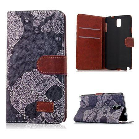 finest selection e4a02 49d5b Note 3 Case, Galaxy Note 3 Case - Mavis's Diary Fashion Style Wallet ...