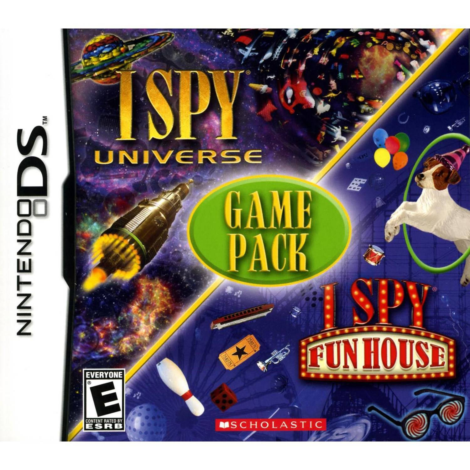 I Spy Game Universe/Fun House (DS) - Pre-Owned