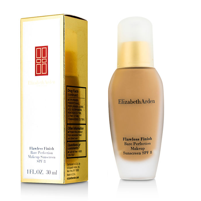 Elizabeth Arden - Flawless Finish Bare Perfection Makeup SPF 8 # 53 Warm Bronze - 30ml/1oz