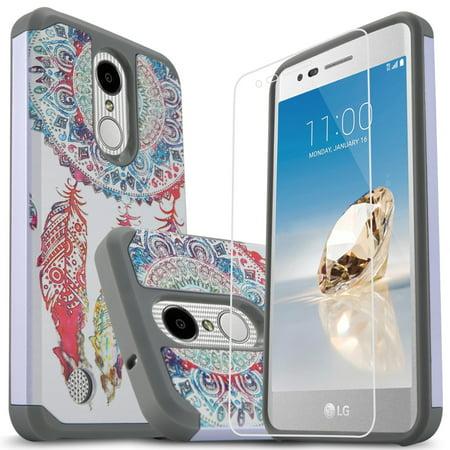 LG Rebel 2 LTE Case, LG Aristo Case, LG Phoenix 3 Case, LG Risio 2 Case, LG  Rebel 3 LTE Case, LG Fortune Case, W/[HD Protector], Heavy Duty Drop