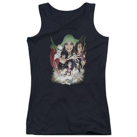 DC Comics Justice League Dark Deadman Zatanna Enchantress Juniors Tank Top Shirt - Dc Enchantress