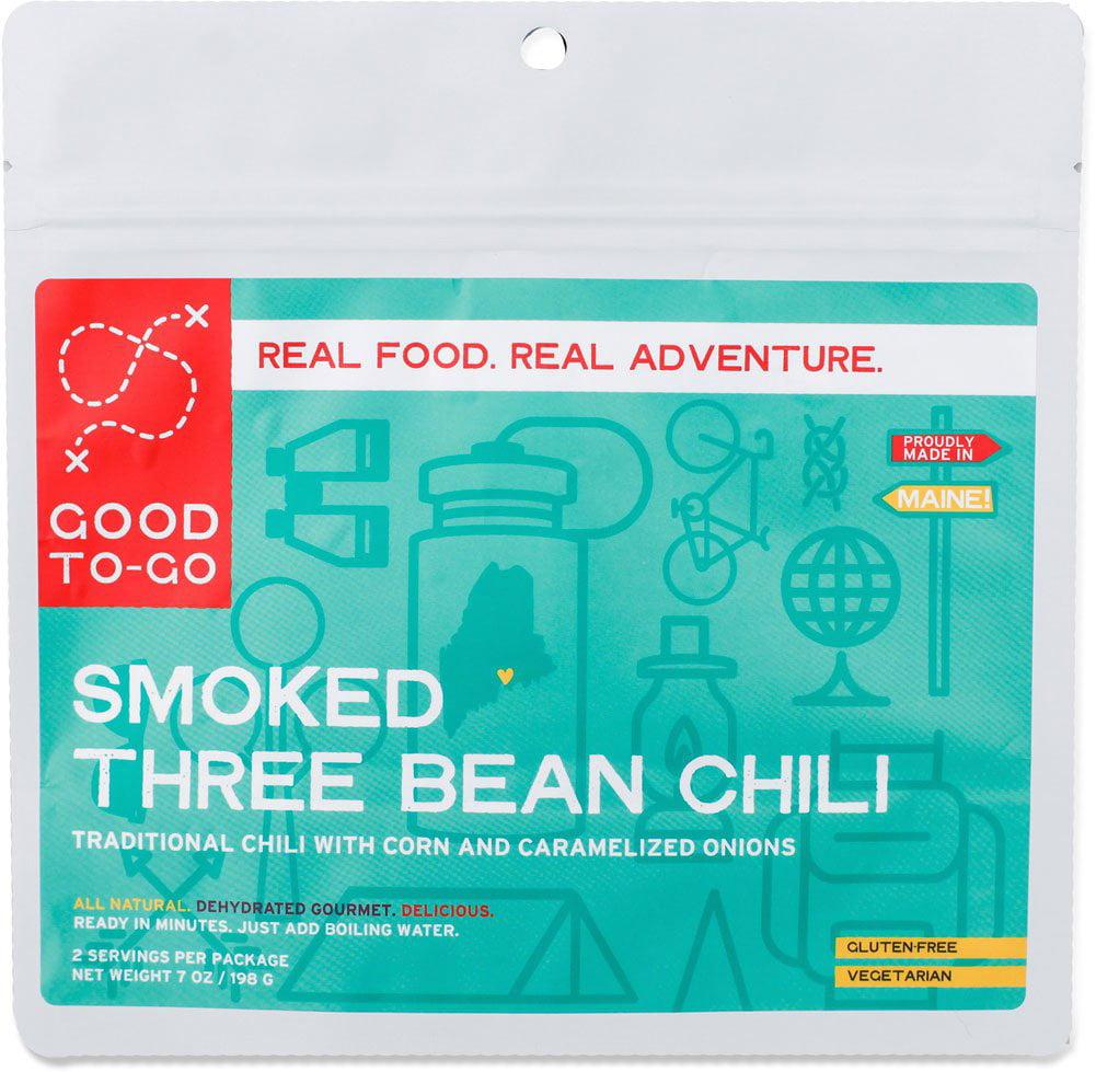 Good To Go Smoked Three Bean Chili 2 Servings