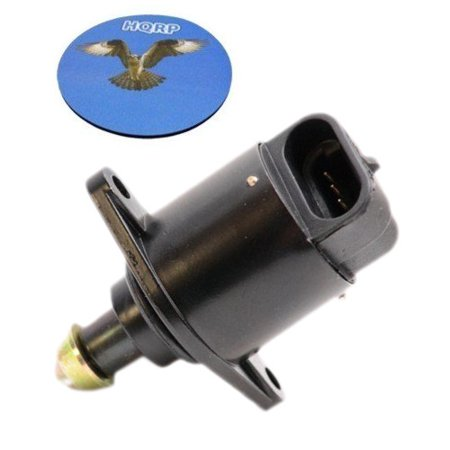 HQRP Idle Air Control Valve for Dodge B150 1992 92 ; D150 1992 1993 92 93 ; Ram 1500 Van 1999 99 plus HQRP Coaster