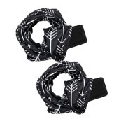 SAYFUT 2 Pack Women's Fashion Infinity Scarf with Hidden Zipper Pocket Loop Scarf for Women and Men Neck Scarves Travel Wrap Lightweight