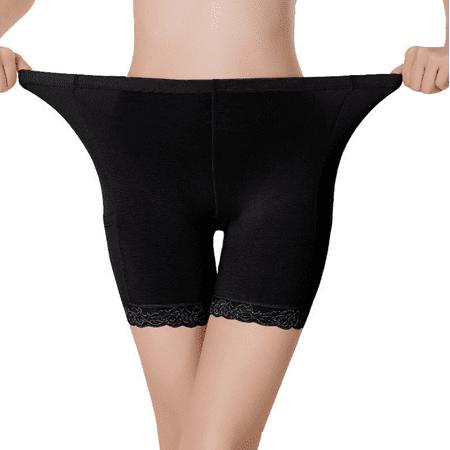 DYMADE Women's Under Skirt Leggings Soft Stretch Lace Short Leggings Fitness Shorts - Skirts Leggings
