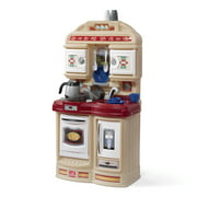 Step2 Cozy Play Kitchen with 21 Piece Accessory Play Set