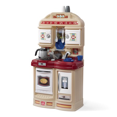 Step2 Cozy Kitchen Kids Play Kitchen with 21-piece Accessory