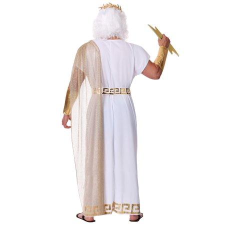 Men's Plus Size Zeus Costume