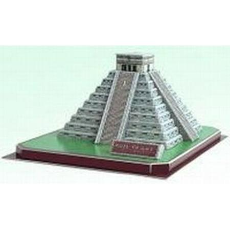 Mayan Kukulan Pyramid In Mexico 3 D Puzzle Model Kit ()