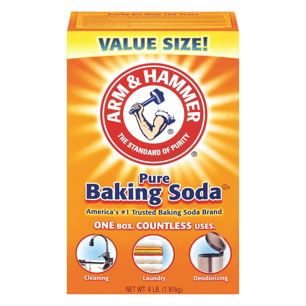 ARM AND HAMMER Odorless Baking Soda,  4 lb.,  6PK 33200-01170