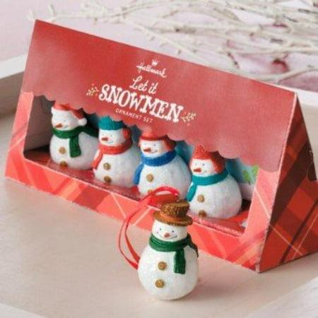Hallmark Direct Imports 2013 1DIR4500 Let It Snowmen 5 Pc Set Ornament - Import Direct