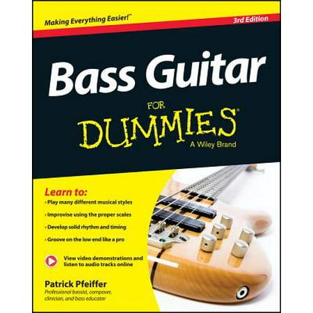 (Bass Guitar for Dummies, Book + Online Video & Audio Instruction)