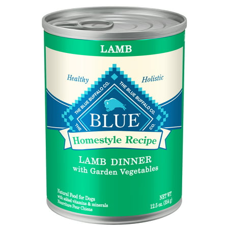 Blue Homestyle Recipe Lamb Dinner with Garden Vegetables Wet Dog Food, 12