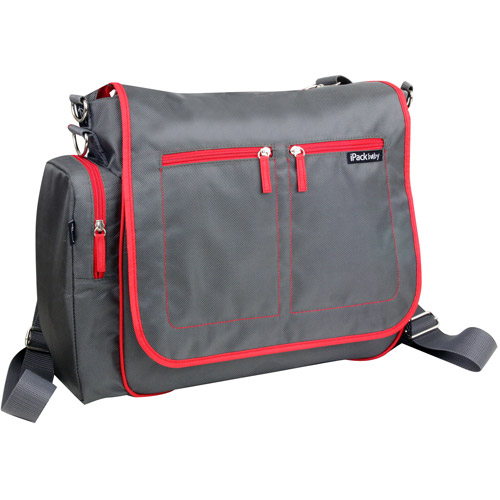 iPack Convertible Messenger/Backpack Diaper Bag