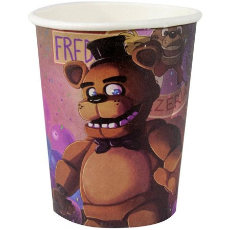 - (3 pack) Five Nights at Freddy's 9-Ounce Paper Cups, 8 Pack
