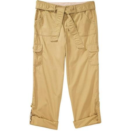 Creative Faded Glory  Women39s Weekend Cargo Pants Women  Walmartcom