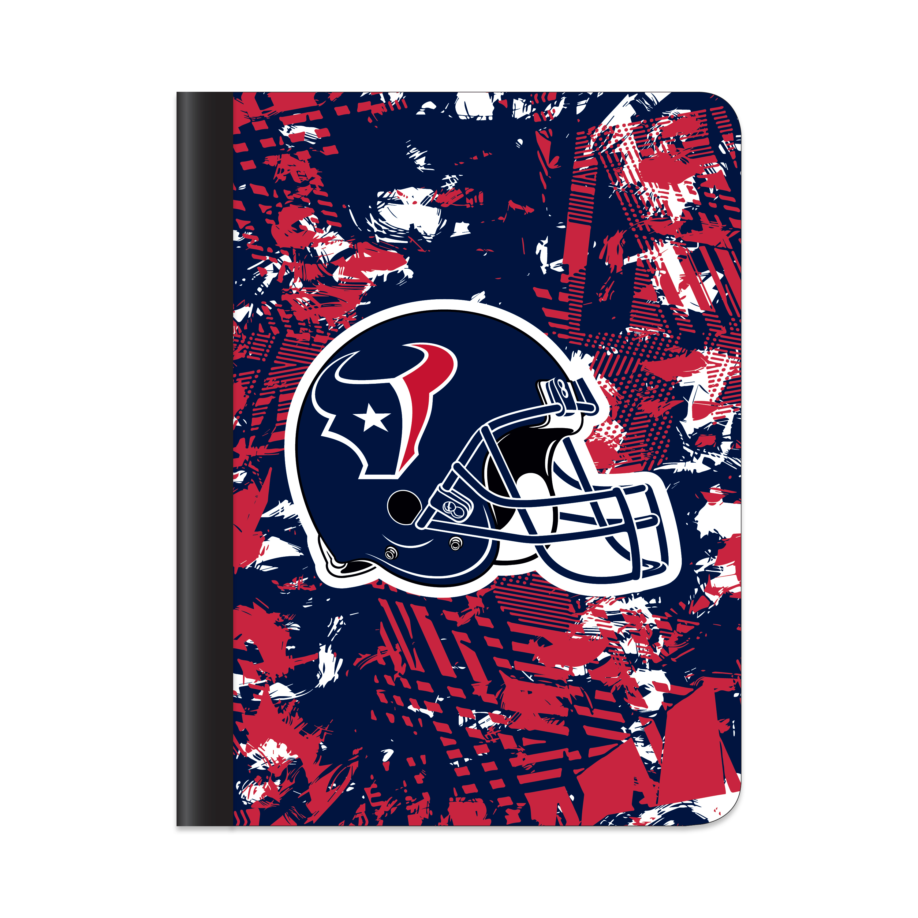 HOUSTON TEXANS ACTIVE STATIC COMPOSITION BOOK