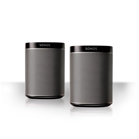 Sonos Play 1 All In One Compact Wireless Music Streaming Speakers   Pair