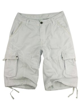 Stone Touch Men's Military-style Cargo Shorts, #27s-WT sizes:44
