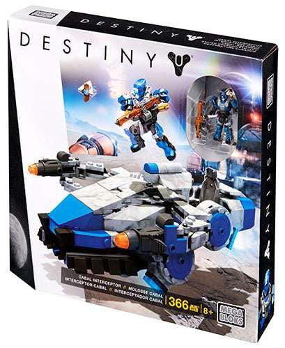 Destiny Cabal Interceptor Set Mega Bloks 31774 by