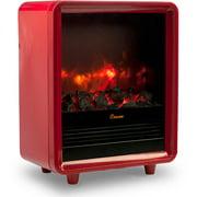 Crane Fireplace Heater - Red