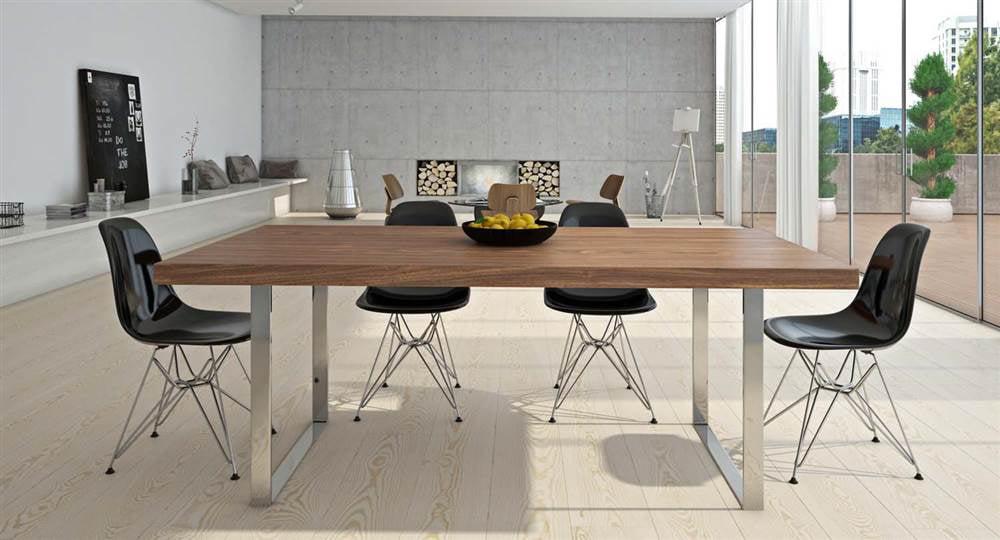 Aeon Furniture Jordan Dining Table Walmartcom