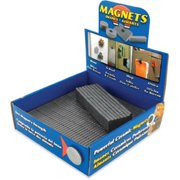 Master Magnetics MDCB40CB3 Powerful Permanent Ceramic Block Magnet, Pack Of 500