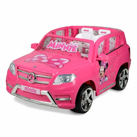 12 Volt Minnie Mouse Mercedes Battery Powered Ride On - Your little ones will ride in Luxury!
