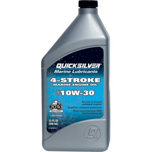 Quicksilver 10W-30 4-Stroke Marine Oil - 1 Quart