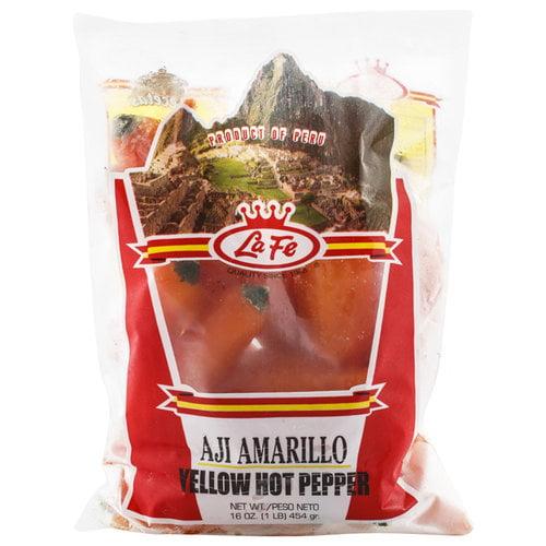 La Fe Yellow Hot Pepper, 16 oz