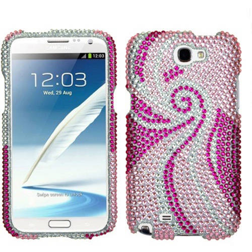 Samsung N7100 Galaxy Note 2 MyBat Diamante Protector Cover, Phoenix Tail