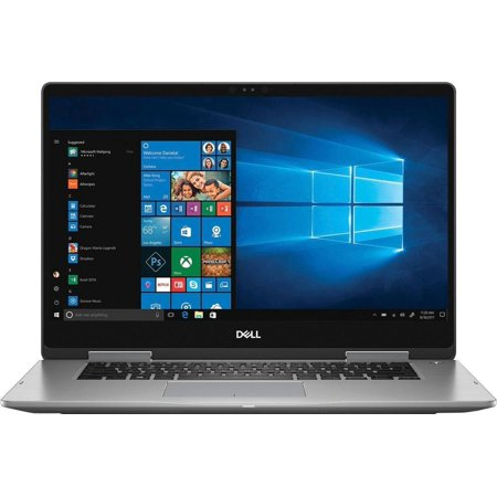 "Dell I7573-7012GRY-PUS Inspiron 2-in-1 15.6"" Touch-Screen Laptop Intel Core 12GB Memory 2TB Hard Drive Era Gray"
