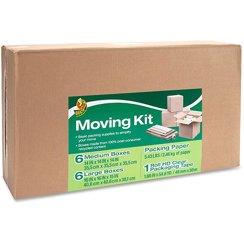 Duck Brand Moving Kit
