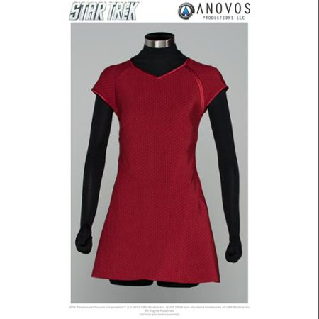 Star Trek The Movie Uniform Adult: Uhura Red Dress](Star Trek Dress Uniform)