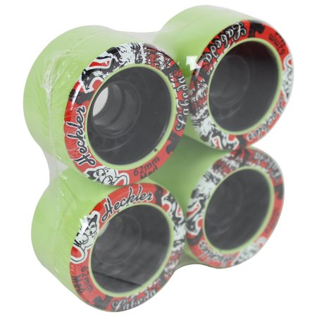 Labeda Quad Wheels Speed Jam Derby Roller Skate Heckler Medium Slim 62mm 4-Pack