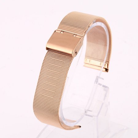 Esho Men Women Stainless Steel Wrist Watch Strap Band Mesh Belt -