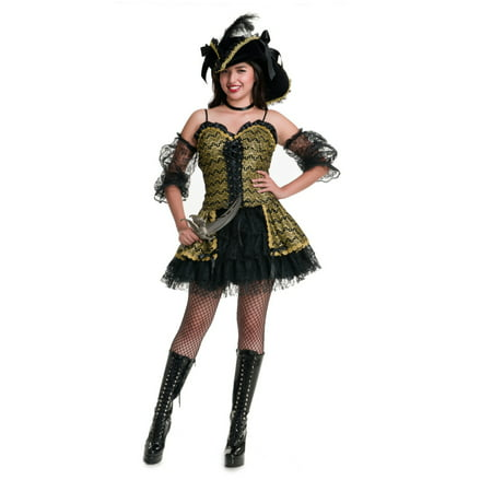 Pearl Beauty Costume, Sexy Pirate Costume