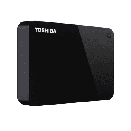 Toshiba Canvio Advance Portable External Hard Drive 4TB Black - HDTC940XK3CA