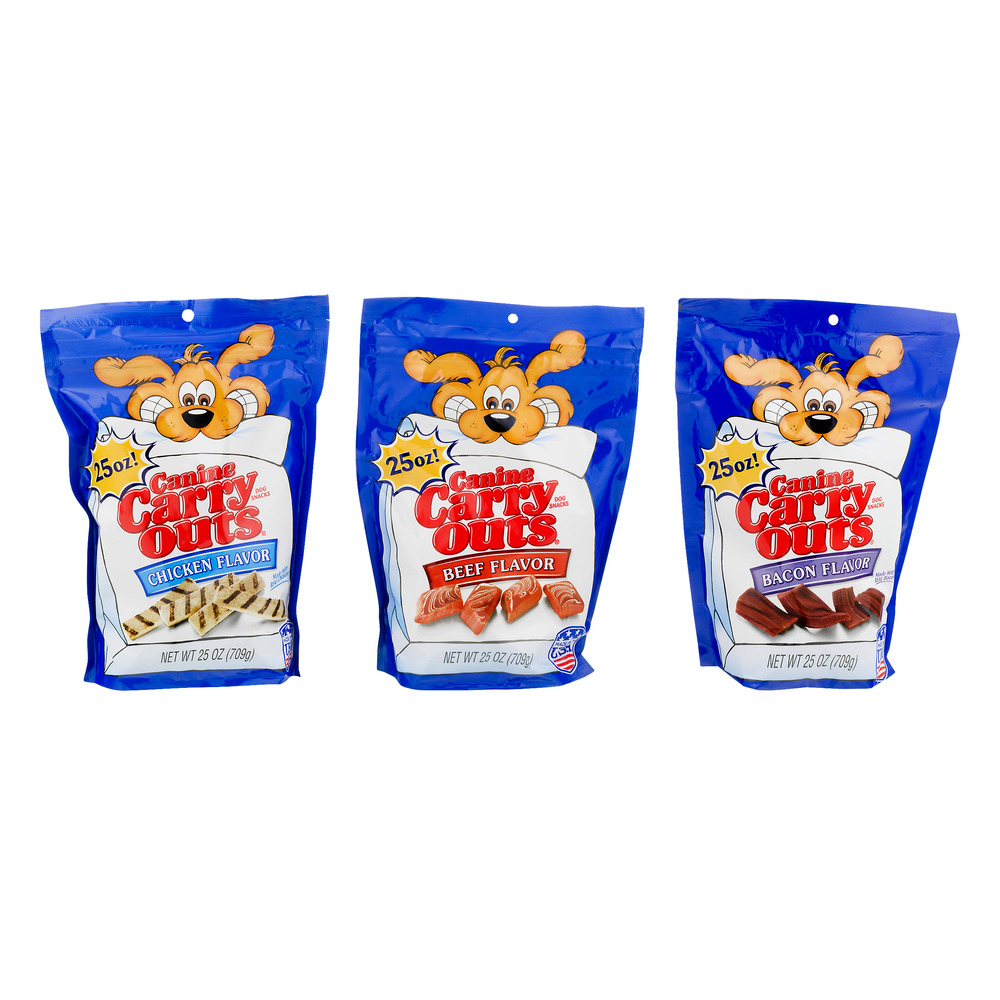 Caine Carry Outs Dog Snacks Variety, 3.0 CT
