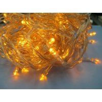 200 LEDS Yellow Christmas Light Wedding Party Holiday Decor Fairy String Lights