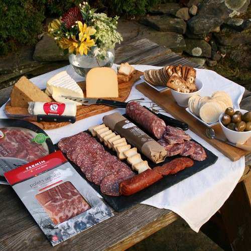 Grand Assortment of Meat and Cheese Favorites by