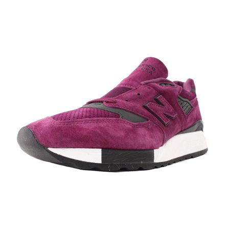 half off 0d92b e693d NEW BALANCE 998 MADE IN USA SZ 8 COLOR SPECTRUM PURPLE BLACK WHITE M998CM