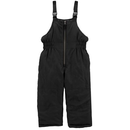 Carter's Little Boys Snow Bib Overall Ski Pants Warm Winter Snow Pants Black Size 4 ()