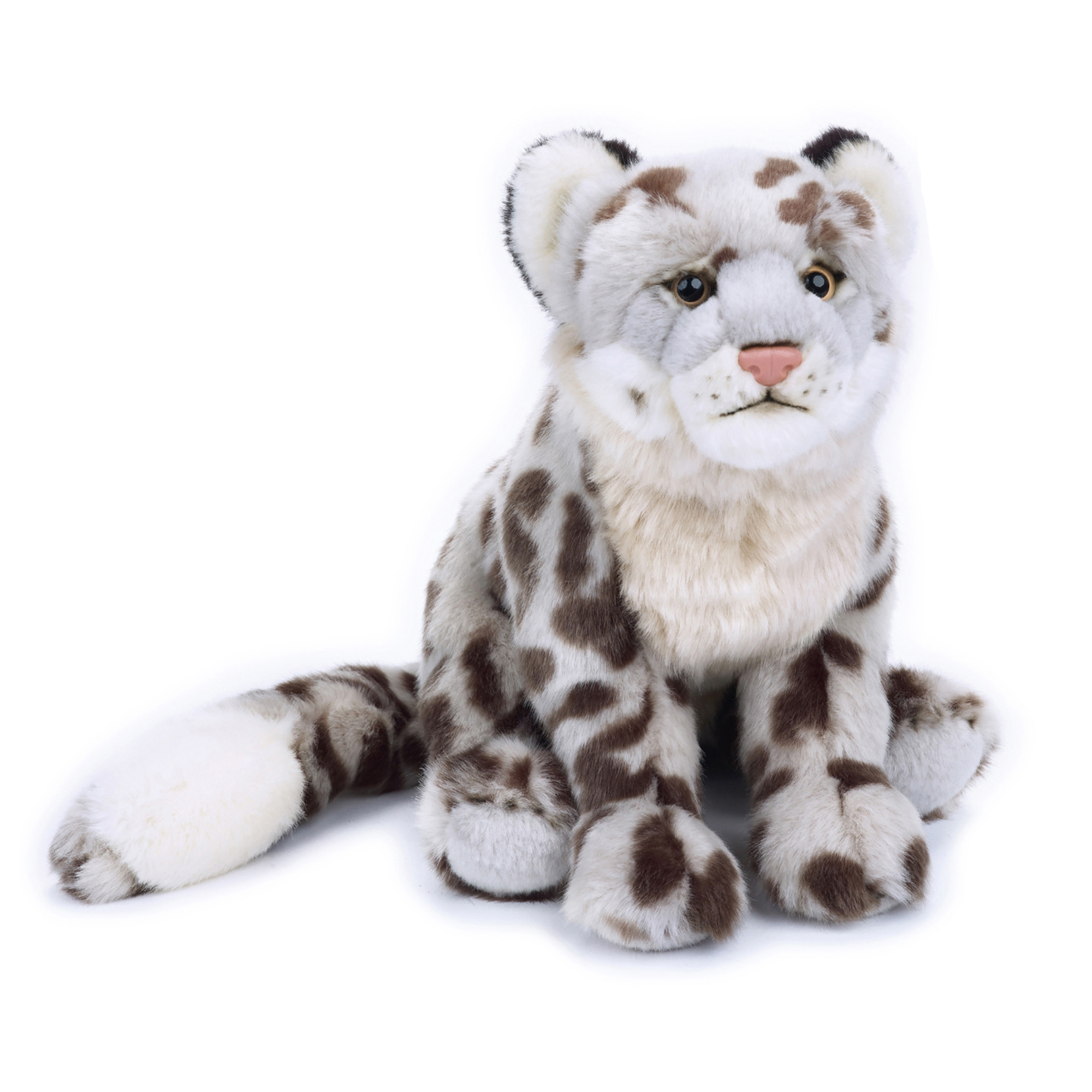 Lelly National Geographic Plush Snow Leopard Walmart Com