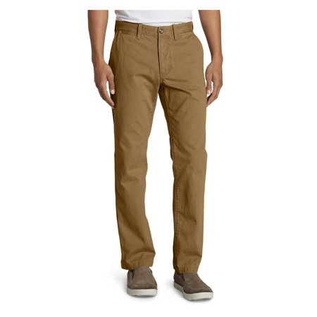 Eddie Bauer Men's Legend Wash Chino Pants - Classic Fit (Dockers Washed Chino)