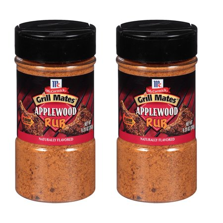 McCormick Grill Mates Applewood Rub (9.25 oz.) - 2 (Best Grilled Pork Tenderloin Rub)